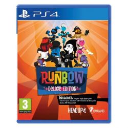 Runbow (Deluxe Edition) (Hra PS4)
