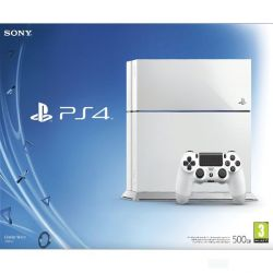 Sony PlayStation 4 500GB, glacier white (Hracia konzola PS4)