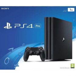 Sony PlayStation 4 Pro 1TB, jet black (Hracia konzola PS4)