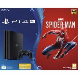 Sony PlayStation 4 Pro 1TB   Marvel's Spider-Man CZ (Hracia konzola PS4)