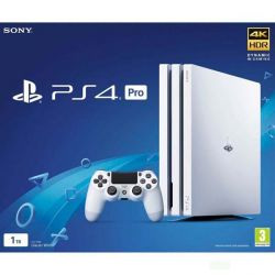 Sony PlayStation 4 Pro 1TB, white (Hracia konzola PS4)