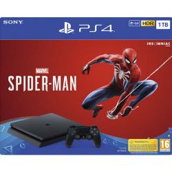 Sony PlayStation 4 Slim 1TB   Marvel's Spider-Man CZ (Hracia konzola PS4)