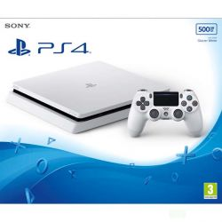 Sony PlayStation 4 Slim 500GB, glacier white (Hracia konzola PS4)