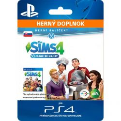 The Sims 4: Ideme sa najesť (SK) (Hra PS4)