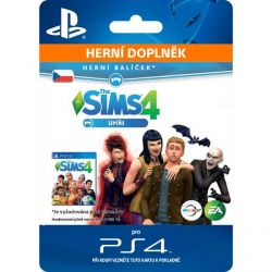 The Sims 4: Upíri (CZ) (Hra PS4)