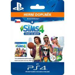 The Sims 4: Život v meste (CZ) (Hra PS4)