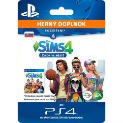 The Sims 4: Život v meste (SK) (Hra PS4)