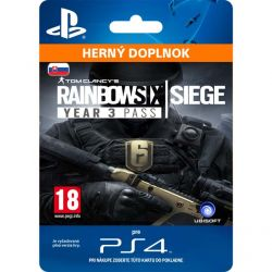 Tom Clancy's Rainbow Six: Siege (SK Year 3 Season Pass) (Hra PS4)
