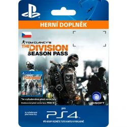 Tom Clancy's The Division CZ (CZ Season Pass) (Hra PS4)