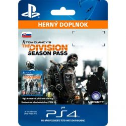 Tom Clancy's The Division CZ (SK Season Pass) (Hra PS4)