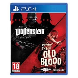 Wolfenstein: The New Order   Wolfenstein: The Old Blood (Double Pack) (Hra PS4)