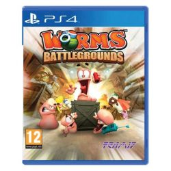 Worms Battlegrounds (Hra PS4)