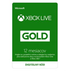 Xbox Live GOLD 12 mesačné predplatné CD-Key (Príslušenstvo XboxOne)