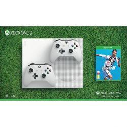Xbox One S 1TB    FIFA 19 CZ    Xbox Wireless Controller, white (Hracia konzola XboxOne)