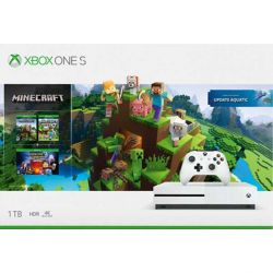 Xbox One S 1TB   Minecraft (Xbox One Edition Explorers Pack)   Minecraft: Story Mode (The Complete Adventure) (Hracia konzola XboxOne)