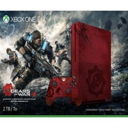 Xbox One S 2TB (Gears of War 4 Limited Edition) (Hracia konzola XboxOne)