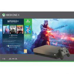 Xbox One X 1TB   Battlefield 5 (Deluxe Edition)   FIFA 19   Battlefield 1: Revolution   Battlefield: 1943 (Hracia konzola XboxOne)