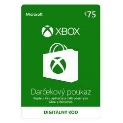 Xbox Store 75€ - elektronická peňaženka (Príslušenstvo XboxOne)