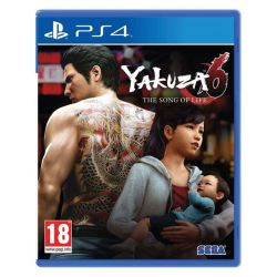 Yakuza 6: The Song of Life (Hra PS4)